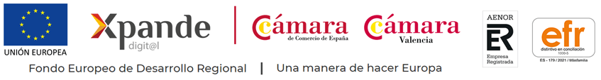 Programa Xpande Digital Cámara de Comercio Valencia